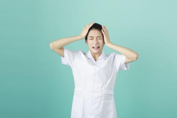 看護師が感じるストレス イメージ